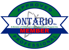 Ontario Approved Professional Member