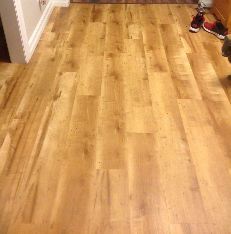 light brown hardwood flooring